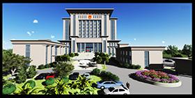 定南县人民法院审判法庭建设工程项目